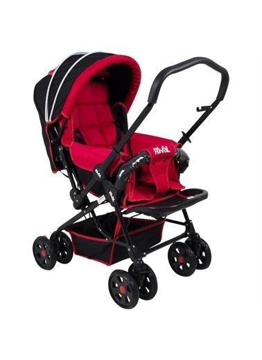 Rival Rıval Tam Yatarlı Çift Yönlü Bebek Arabası Lucido Rv102 Rival Lucıdo Mavi